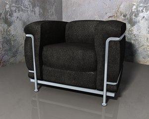 grand confort chair 3d model