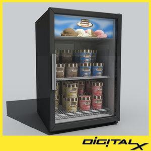 maya ice cream freezer