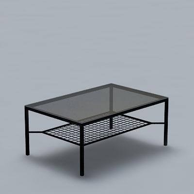 3d ikea granas table model