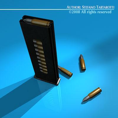gun cartridge bullets 3ds