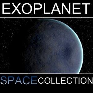 3d planet ice