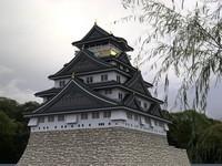 3d model japanese castle
