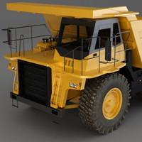 3d max dump truck large