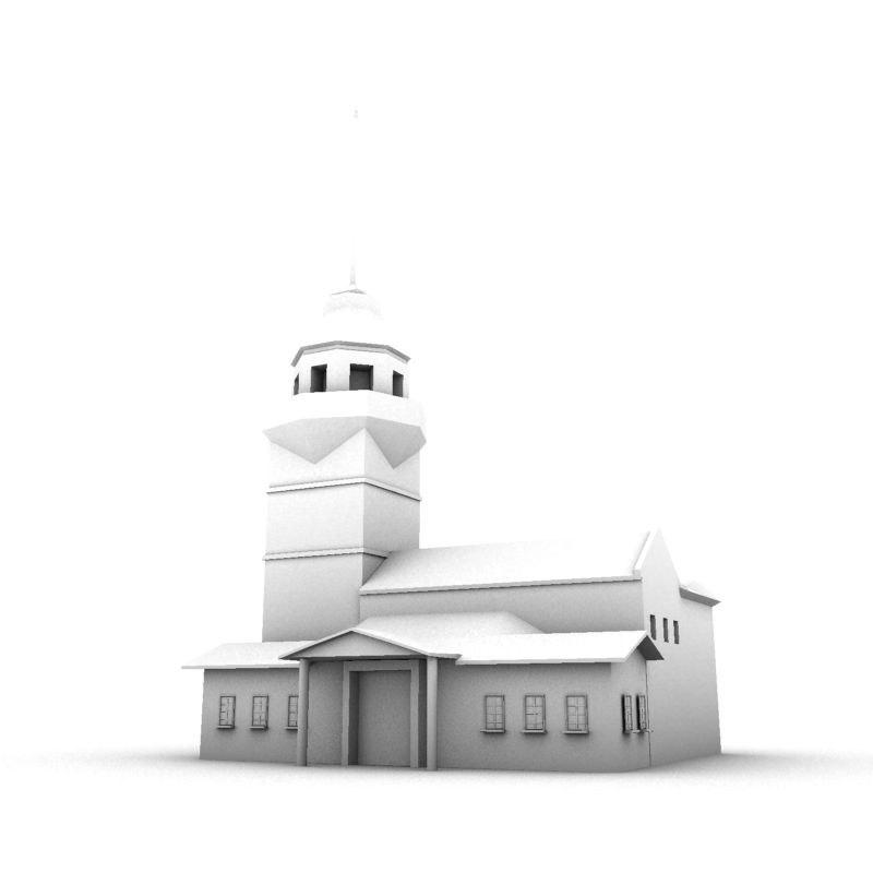 3d model istanbul building