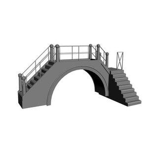 3d venician bridge