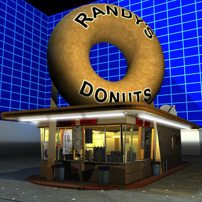 3ds max randy donut 01