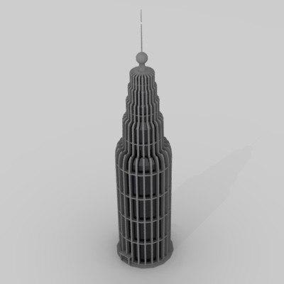maya skyscraper sky scraper