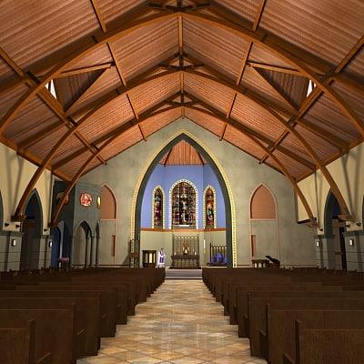 church interior max
