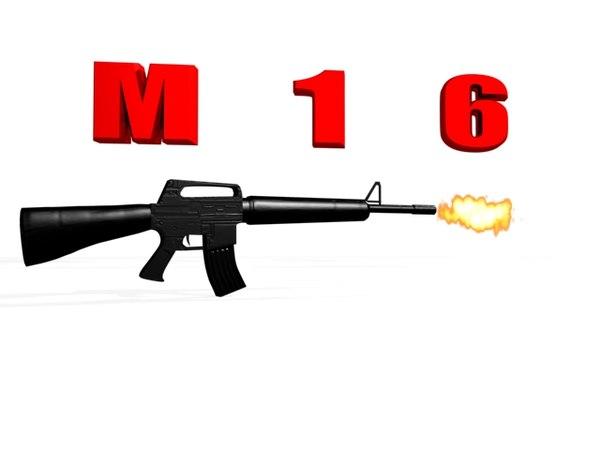 machin gun 3d model
