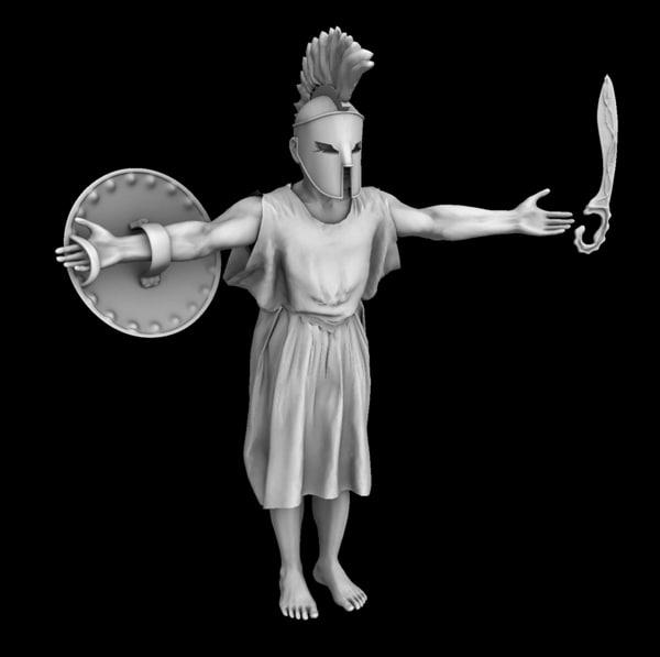 greek warrior max
