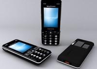 realistic phone materials 3d model