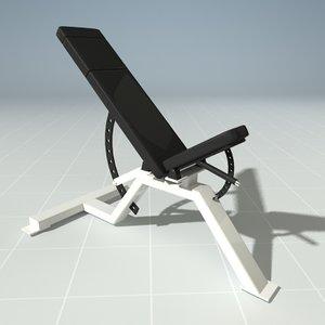 maya exercise bench precor 119clx