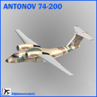 3d model of antonov transport iran revolutionary