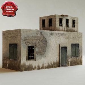 arab house v12 3d c4d