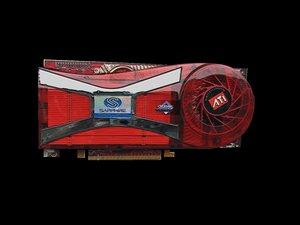 3d model ati graphics card