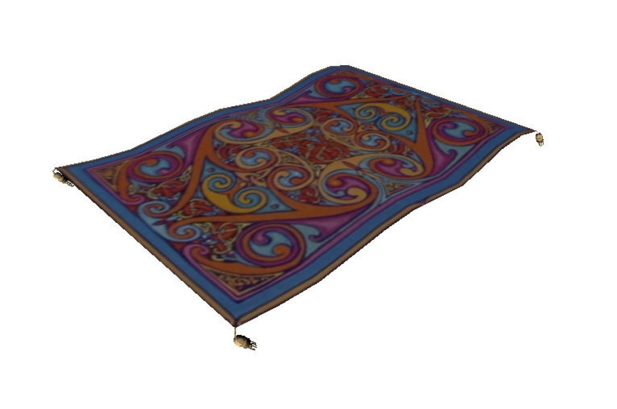 flying carpet 3ds