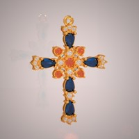 Jewellery cross 2