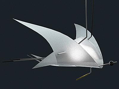 3d model droplight oligo charles