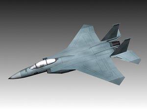 3d f-15 eagle model