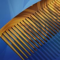 3d hair comb