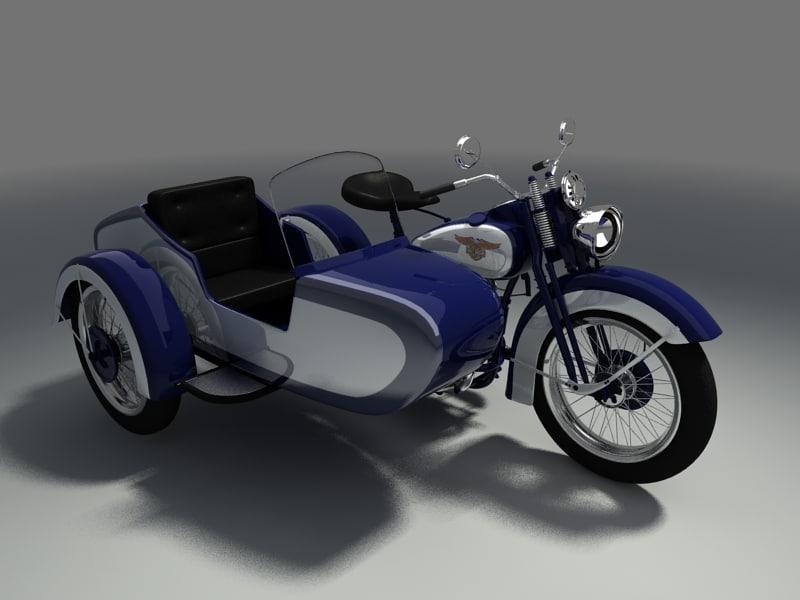 3d model harley davidson motorcycle