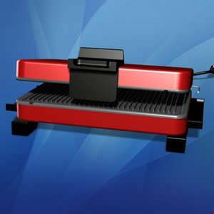 3ds max indoor electric grill