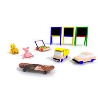3d kids toys model