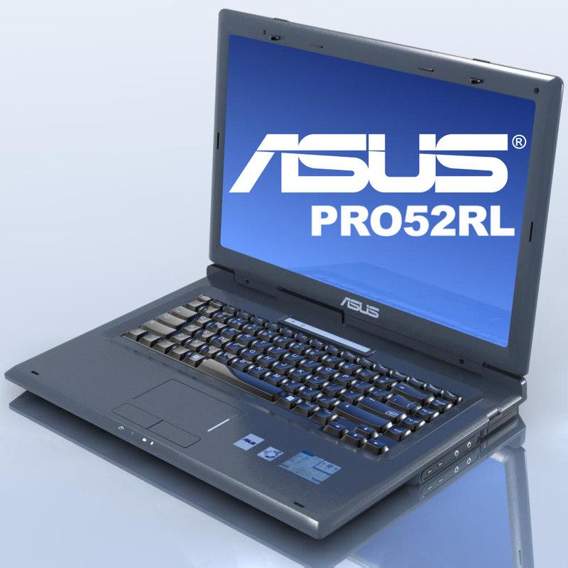 lightwave notebook asus pro52rl laptop
