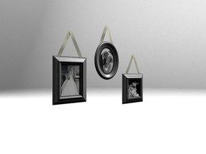 3d 3 picture frames