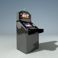 slot machine casino 3d model
