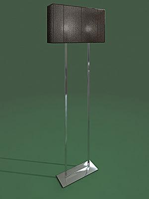 3d model standard lamp clavius