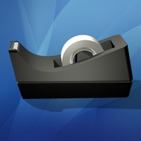 3d model tape dispenser