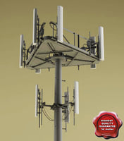 3ds max telecommunication tower v3