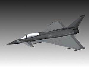 3ds max eurofighter typhoon
