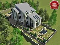 villa v10 3d 3ds
