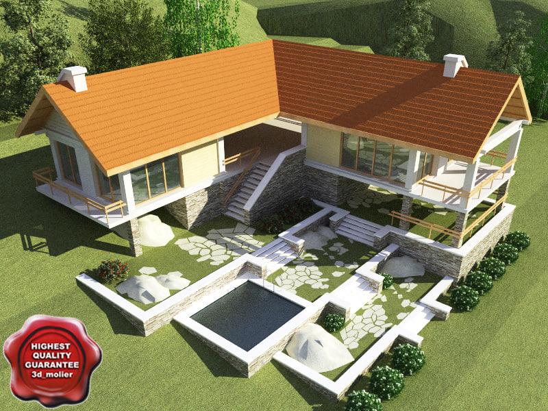 villa v13 3d model