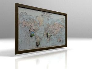world realistic 3d model