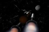 onibus espacial lua 3d model