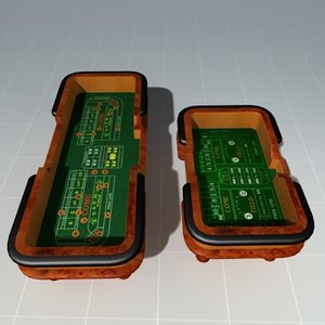 3d model craps tables casinos