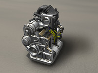 rotary engine 3d model