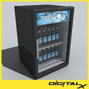 small fridge 3d model