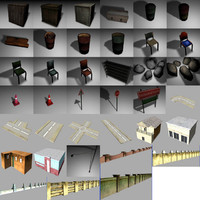 3d model gaming pack