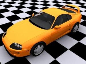 3d 19 car model