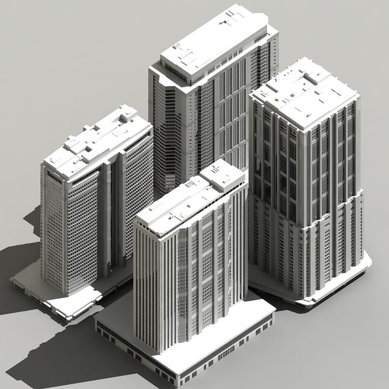 building skyscraper 3d max