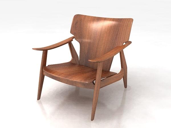 3d diz armchair