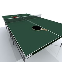 Table Tennis Set with bats