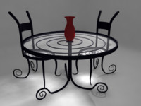 Curvy Table Set