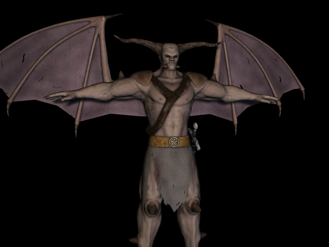 maya demon sword
