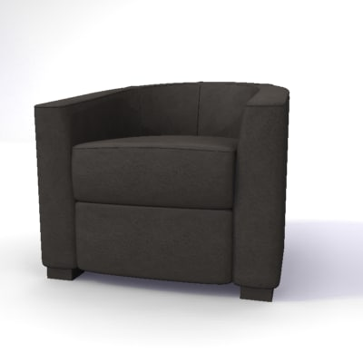 tub chair 3ds