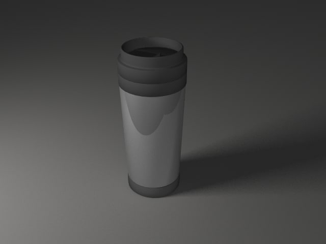 non spill drinking 3d model